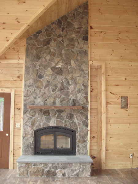 We can custom build your fireplace using the rock of your choice. Whether  you like the dry-set look, the three-dimensional look or a traditional  veneer ...
